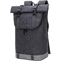 EverVanz Laptop-Rucksack, Damen & Herren Roll Top Wasserdichter Wanderrucksack, Leichter, Lässiger Rucksack, Stylische…