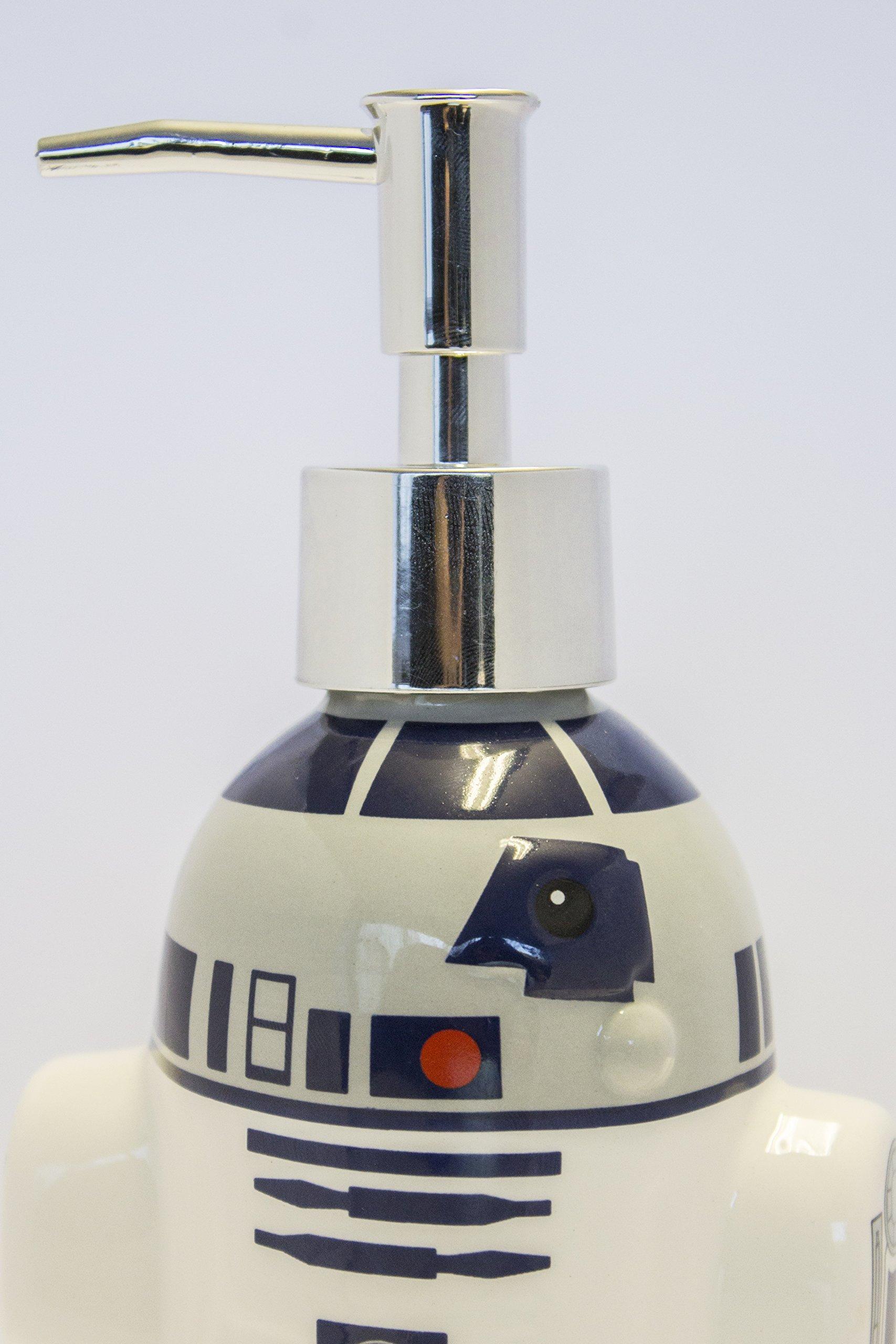 Joy Toy R2D2Jabonera, cerámica, Multicolor, 10x 6x 21cm