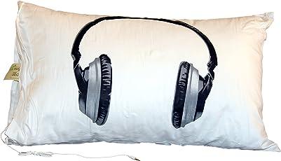 Recron Sleeptunes Fibre Pillow with Pillow Cover