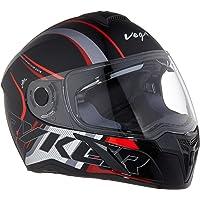 Vega Ryker D/V Track Black Red Helmet, M