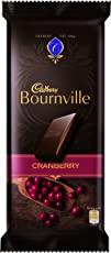 Cadbury Bournville Dark Chocolate Bar with Cranberry, 80 gm (Pack of 5)