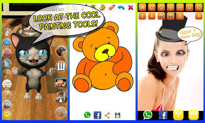 Zoom IMG-3 talking cat background dog free