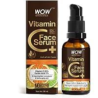 WOW Skin Science Vitamin C+(Plus) Face Serum - Vitamin C 20%, Ferulic Acid 1% - Brightening, Anti-Aging Skin Repair…