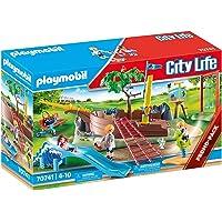 PLAYMOBIL City Life 70741 Aire de Jeu d'aventure avec épave de Bateau à partir de 4 Ans