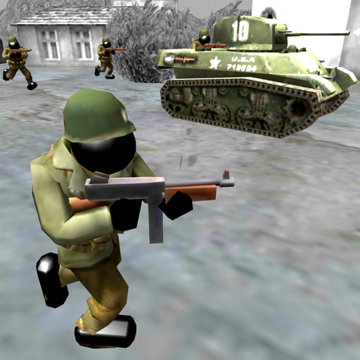 Stickman Kampfsimulator: Zweiter Weltkrieg