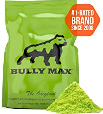 BullyMax Muscle Building Powder For Dogs (60 Servings) 1 Packet= 2 Bottles Of Tablets