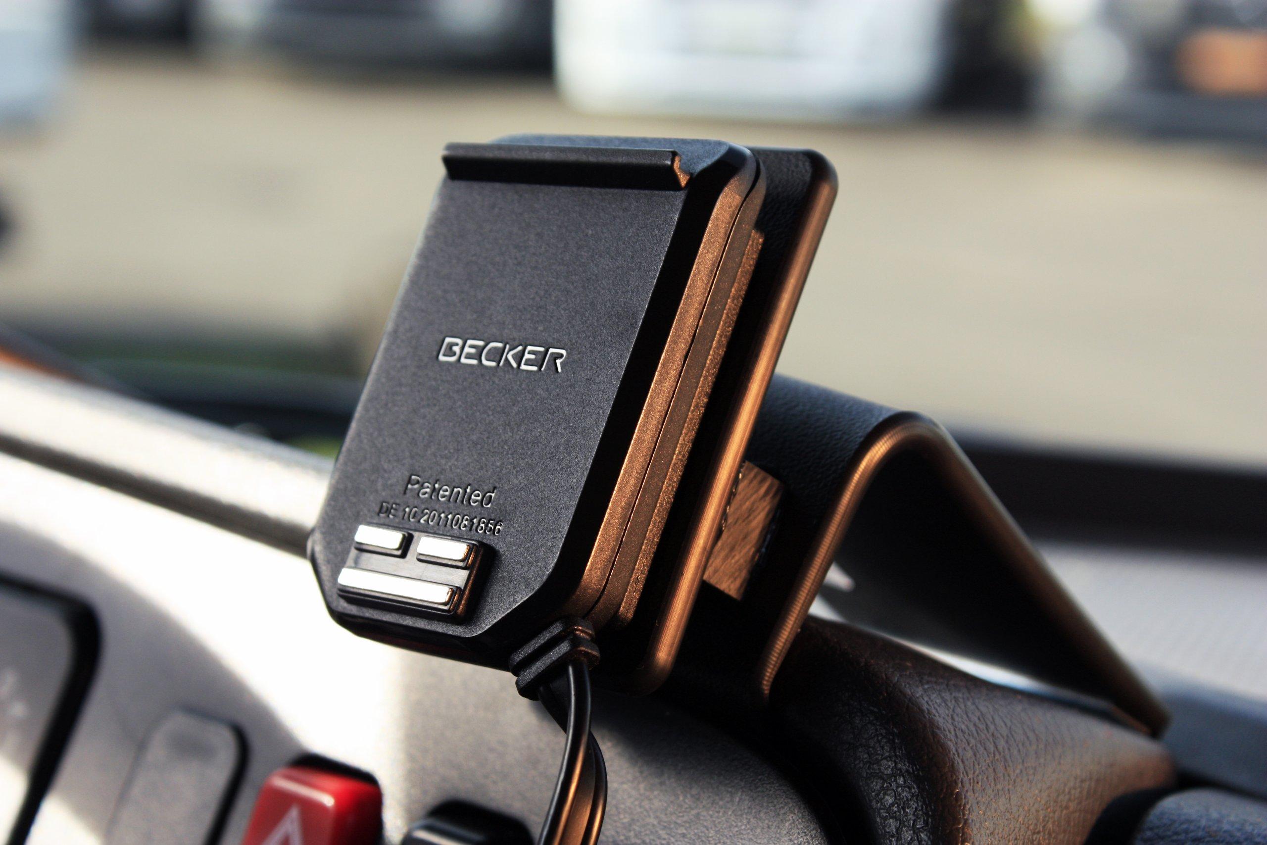 Becker-MagClick-Aktivadapter-Geeignet-fr-Navigationssystem-schwarz