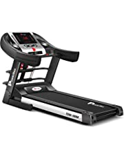Powermax Fitness TDM-100M (2.0HP), Semi-Auto Lubrication, Multifunction Treadmill for home fitness