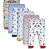 minicult Baby Boy's & Baby Girl's Pajama Pant (Pack of 6)