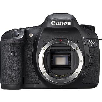 Canon EOS 7D SLR-Digitalkamera (18 Megapixel, 7,6 cm (3 Zoll) LCD-Display, Live-View, Full-HD Movie) Gehäuse schwarz