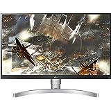 """LG 27UL650 Monitor 27"""" UltraHD 4K LED IPS HDR 400, 3840x2160, 1 Miliardo di Colori, AMD FreeSync 60Hz, HDMI 2.0 (HDCP 2.2), D"""