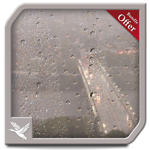 City Rains HD - Peaceful Wallpaper for Fire TV and Kindle Devices