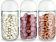 Clicklock Storage Jar Set, Clear, 450 ml, Prd.Si91083, 3Pc