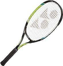Yonex E Zone 01 Aluminum Strung Tennis Racquet, 27-inch 280 g (Lime Green)