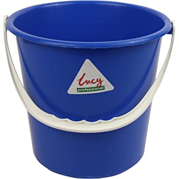 Pack of 5 Yellow SYR L1414294 Lucy Polypropylene Colour Bucket 10 L Capacity