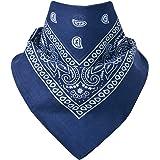 Miobo - Bandana/foulard da collo, 100% cotone, taglia unica