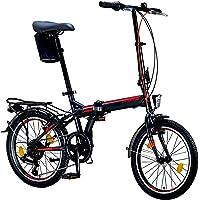 Licorne Bike CONSERES Premium Faltrad, Klapprad in 20 Zoll - Fahrrad für Herren, Jungen, Mädchen und Damen - Shimano 6…