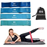 Fitlastics Resistance Loop Bands Set for Squats, Stretching, Strength Training Exercises, Hips & Glutes Heavy Workouts for Me