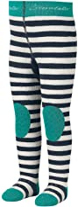 Sterntaler Krabbelstrumpfhose Bär für Babys und Kleinkinder, ABS-Sohle, Alter: 5-6 Monate, Größe, 74, Blau (Marine)