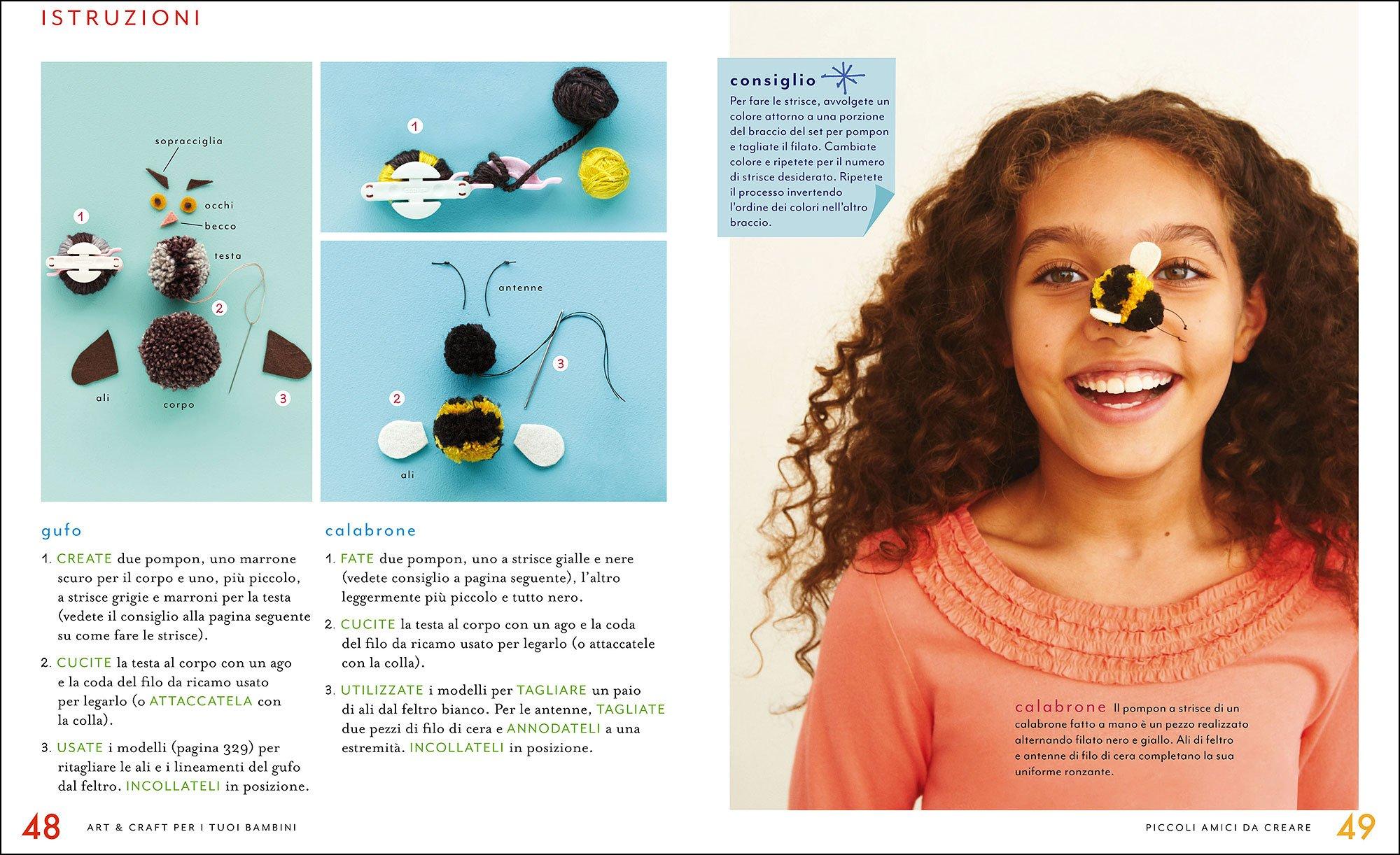 813hlwruWpL - Art & craft per i tuoi bambini. 175 idee da creare, disegnare e costruire