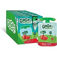 GoGo squeeZ Apple Strawberry Fruit Snack, 20 pouches x 90g