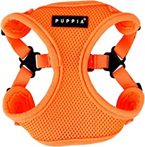 Puppia Neon Soft Harness II S Arancione