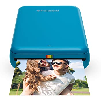 Polaroid Zip 2 x 3 Inch Wireless Mobile Photo Mini Printer, Compatible with iOS and Android, NFC and Bluetooth Devices, Zink Zero Ink Printing Technology - Blue