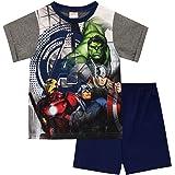 Marvel Pijamas de Manga Corta para niños Avengers