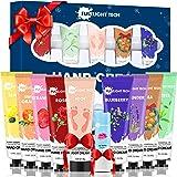 Set Creme Mani Regalo,Crema Mani Riparatrice,Crema Piedi,Balsamo per le Labbra,Idee Originali Regalo Natale Donna Cofanetto,R