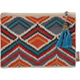Aakrutii Multicolored Cotton Women's Wallet (Aakrutii 7066)