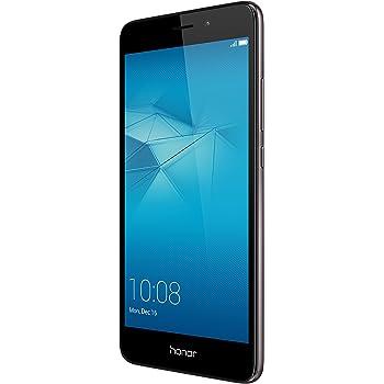 "Honor 5C Smartphone 4G, Display 5.2"" IPS LCD, 2 GB RAM, 16 GB memoria interna, Fotocamera da 13 MP, Android M EMUI 4.1, Batteria 3100 mAh, Dual SIM, Grigio"