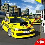 Elettrico Taxi auto autista Simulatore 3D Città distributore di benzina Giochi 2018