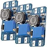 AZDelivery 3 x MT3608 DC-DC Voeding dapter Step Up Module compatibel met Arduino inclusief E-Book!
