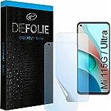 Crocfol Skyddsfilm från testvinnaren [2 st.] kompatibel med Xiaomi Mi 11 – självläkande premium 5D långtidsstansfolie (Case-F