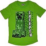 Minecraft Camiseta para niños & Babies, color negro y verde