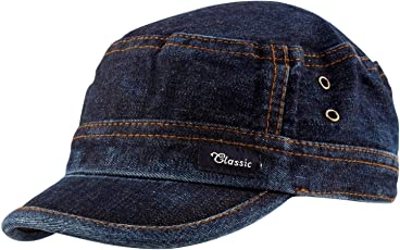 Motoway Trendy Denim Cap for Men/Women