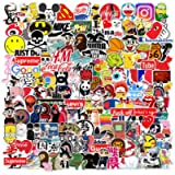 150PCS Stickers Pack Cool, Devlop Trendy Band Sticker Waterproof for Laptop, Notebook, Skateboard, Luggage, Guitar, Car…