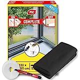 PIC - Insect Stop Haak en Loop Standaard Eenvoudig te gebruiken, Wasbaar Insect Screen voor Windows