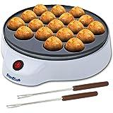 Machine à Takoyaki par StarBlue avec Fourches à Takoyaki GRATUITES - Machine électrique Simple Pour Faire des Boules de Poulp