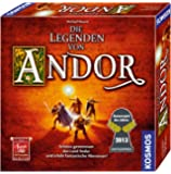 Kosmos 691745 - Die Legenden von Andor, Das Grundspiel, Kennerspiel des Jahres 2013, kooperatives Fantasy-Brettspiel ab…