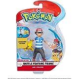 Pokemon 98121 POKÉMON 4.5 INCH ASH & Pikachu Figures, No Colour