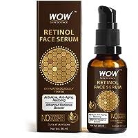 WOW Skin Science Retinol Face Serum - OIL FREE - Skin Plumping, Boost Collagen, Anti Acne, Anti Aging, Restoration - No…
