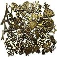breloques pendentif bronze antique antique pour la fabrication bricolage, bracelet, collier, boucle d'oreille, décoration art