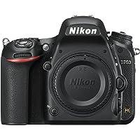 Nikon D750 Body Fotocamera Reflex Digitale, 24,3 Megapixel, Lexar SD 16 GB [Nital card: 4 anni di garanzia]