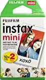 Fujifilm Instax Mini Film instantané Lot de 2–Blanc