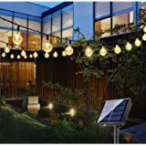 Bteng Solar Garden Lights, 60 LED Outdoor String Lights Solar Powered Waterproof Fairy Lights Decorative Crystal Ball…