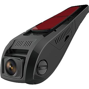 pruveeo f5 auto dashcam mit wifi dezentes design amazon. Black Bedroom Furniture Sets. Home Design Ideas