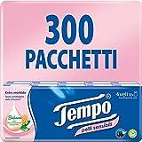 Tempo Zakdoeken voor de gevoelige huid, 300 verpakkingen à 9 zakdoeken