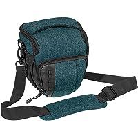 PEDEA DSLR-Kameratasche Fashion Fototasche für Spiegelreflexkameras mit wasserdichtem Regenschutz, Tragegurt und…
