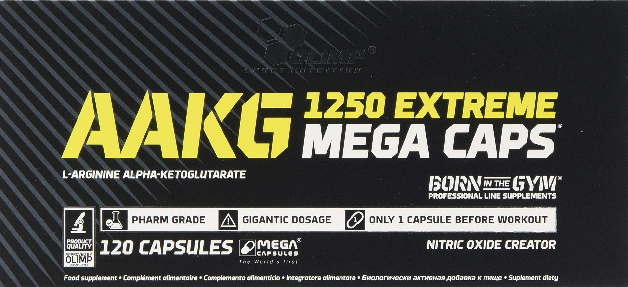 Olimp AAKG Extreme Mega Capsules – Pack of 120 Capsules